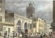 St giles cripplegate is one of the few remaining medieval churches in